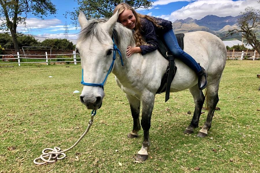 Cabalgatas en Ecuador